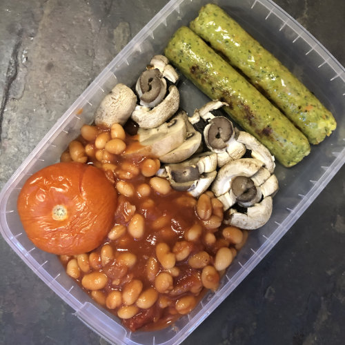 Sausage Breakfast Meal